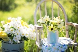 Zrelaksuj się w ogrodzie